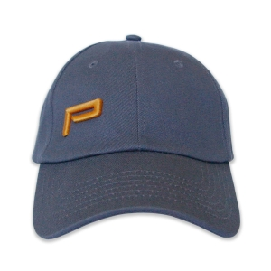BASEBALL CAP MONOGRAM GREY