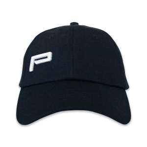 BASEBALL CAP MONOGRAM BLACK