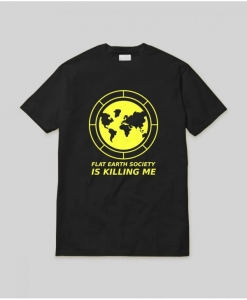 FLAT EARTH SOCIETY TEE